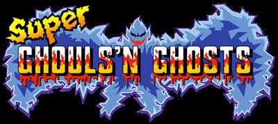 super ghouls n ghosts logo 2