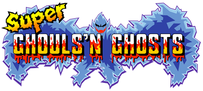 super ghouls n ghosts logo 2
